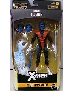 HASBRO MARVEL LEGENDS 2019 X-FORCE SERIES 1.0 X-MEN NIGHTCRAWLER [WENDIGO SERIES]