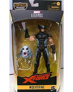 HASBRO MARVEL LEGENDS 2019 X-FORCE SERIES 1.0 UNCANNY X-FORCE WOLVERINE [WENDIGO SERIES]