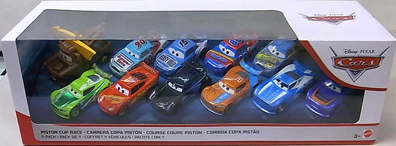 MATTEL CARS 2019 PISTON CUP RACE 11PACK [FLOYD MULVIHILL入り]
