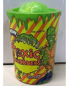 SUPER 7 KESHI SURPRISE TRASH CAN TOXIC CRUSADERS