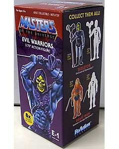 SUPER 7 REACTION FIGURES 3.75インチアクションフィギュア MASTERS OF THE UNIVERSE BLIND BOX SNAKE MOUNTAIN 1 BOX