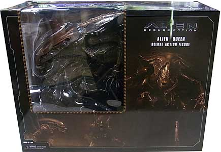 NECA ALIEN 7インチアクションフィギュア ALIEN: RESURRECTION ALIEN QUEEN DELUXE ACTION FIGURE