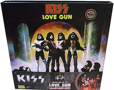 BIF BANG POW! KISS LOVE GUN 3.75インチアクションフィギュア DELUXE BOX SET [CONVENTION EXCLUSIVE]