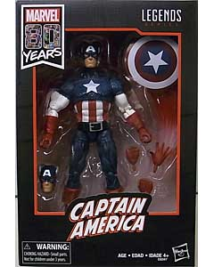 HASBRO MARVEL LEGENDS 2019 MARVEL 80 YEARS CAPTAIN AMERICA