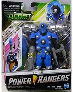 HASBRO POWER RANGERS BEAST MORPHERS 6インチアクションフィギュア DRILLTRON
