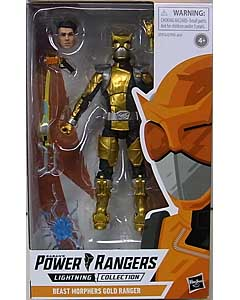 HASBRO POWER RANGERS LIGHTNING COLLECTION 6インチアクションフィギュア BEAST MORPHERS GOLD RANGER