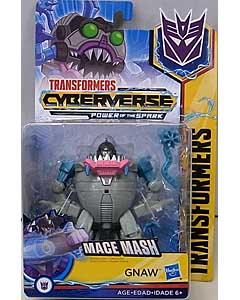 HASBRO アニメ版 TRANSFORMERS CYBERVERSE POWER OF THE SPARK WARRIOR CLASS GNAW