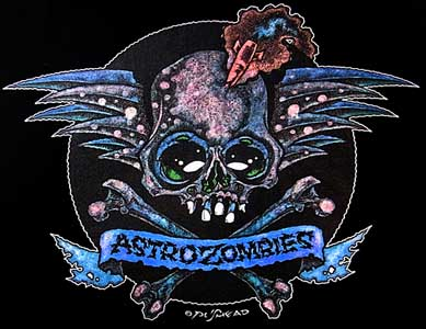 ASTRO ZOMBIES / SKULL WING 15th anniversary Tシャツ