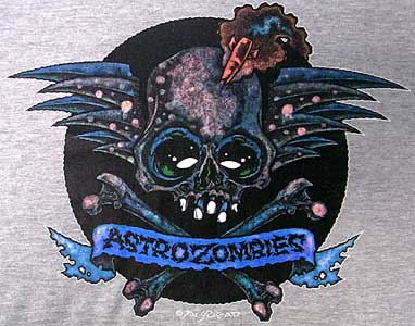 ASTRO ZOMBIES / SKULL WING 15th anniversary リンガーTシャツ