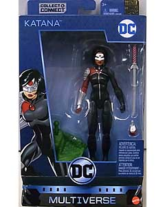 MATTEL DC MULTIVERSE 6インチアクションフィギュア BATMAN 80 YEARS DC REBIRTH KATANA [KILLER CROC SERIES]