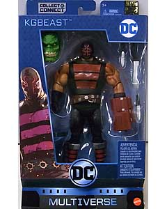MATTEL DC MULTIVERSE 6インチアクションフィギュア BATMAN 80 YEARS DC REBIRTH KGBEAST [KILLER CROC SERIES]