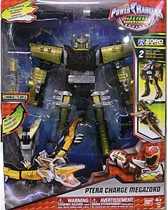 USA BANDAI POWER RANGERS DINO SUPER CHARGE PTERA CHARGE MEGAZORD