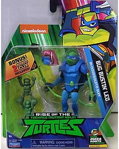 PLAYMATES RISE OF THE TEENAGE MUTANT NINJA TURTLES ベーシックフィギュア BUG BUSTIN' LEO