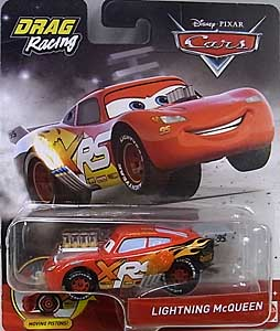 MATTEL CARS 2019 XTREME RACING SERIES DRAG RACING シングル LIGHTNING McQUEEN 台紙傷み特価