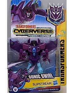 HASBRO アニメ版 TRANSFORMERS CYBERVERSE POWER OF THE SPARK WARRIOR CLASS SLIPSTREAM 台紙傷み特価