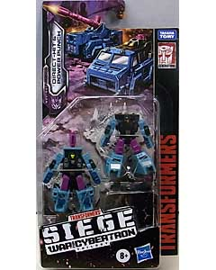HASBRO TRANSFORMERS SIEGE MICROMASTER DIRECT-HIT & POWER PUNCH 台紙傷み特価