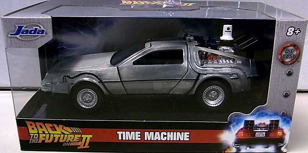 JADA TOYS METALS DIE CAST 1/32スケール BACK TO THE FUTURE PART II TIME MACHINE