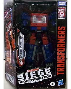 HASBRO TRANSFORMERS SIEGE DELUXE CLASS CROSSHAIRS