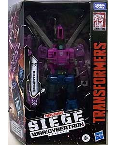 HASBRO TRANSFORMERS SIEGE DELUXE CLASS SPINISTER