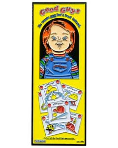 TRICK OR TREAT STUDIOS ENAMEL PIN CHILD'S PLAY 2 GOOD GUYS BOX