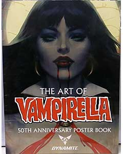 THE ART OF VAMPIRELLA 50TH ANNIVERSARY POSTER BOOK