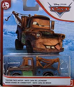 MATTEL CARS 2019 シングル FIGHTING FACE MATER 台紙傷み特価