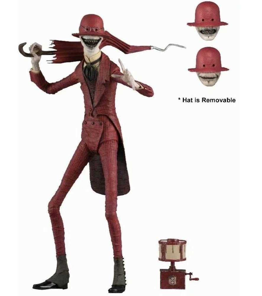 NECA THE CONJURING UNIVERSE 7インチアクションフィギュア THE CONJURING 2 THE CROOKED MAN