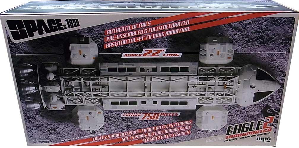 MPC 1/48スケール スペース1999 イーグル2・トランスポーター 半完成塗装済みキット パッケージ傷み特価