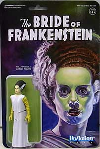 SUPER 7 REACTION FIGURES 3.75インチアクションフィギュア UNIVERSAL MONSTERS THE BRIDE OF FRANKENSTEIN BRIDE