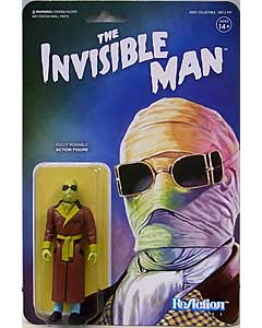 SUPER 7 REACTION FIGURES 3.75インチアクションフィギュア UNIVERSAL MONSTERS THE INVISIBLE MAN