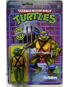 SUPER 7 REACTION FIGURES 3.75インチアクションフィギュア TEENAGE MUTANT NINJA TURTLES LEONARDO