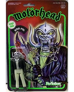 SUPER 7 REACTION FIGURES 3.75インチアクションフィギュア MOTORHEAD WARPIG [GLOW IN THE DARK]