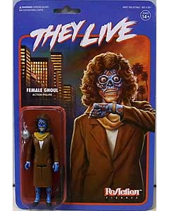 SUPER 7 REACTION FIGURES 3.75インチアクションフィギュア THEY LIVE FEMALE GHOUL