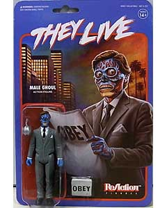 SUPER 7 REACTION FIGURES 3.75インチアクションフィギュア THEY LIVE MALE GHOUL