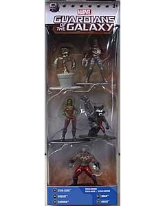 JADA TOYS MARVEL NANO METALFIGS 映画版 GUARDIANS OF THE GALAXY 5PACK [PACK B] パッケージ傷み特価