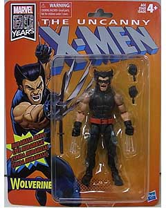 HASBRO MARVEL LEGENDS RETRO 6-INCH COLLECTION MARVEL 80 YEARS THE UNCANNY X-MEN WOLVERINE