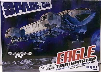 MPC 1/72スケール スペース1999 イーグルトランスポーター 組み立て式プラモデル