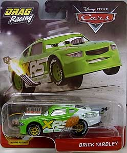 MATTEL CARS 2019 XTREME RACING SERIES DRAG RACING シングル BRICK YARDLEY