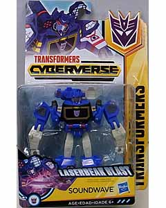 HASBRO アニメ版 TRANSFORMERS CYBERVERSE WARRIOR CLASS SOUNDWAVE 台紙傷み特価