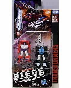 HASBRO TRANSFORMERS SIEGE MICROMASTER RED HEAT & STAKEOUT