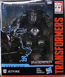 HASBRO TRANSFORMERS STUDIO SERIES LEADER CLASS JETFIRE #35