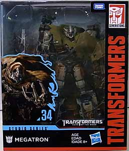 HASBRO TRANSFORMERS STUDIO SERIES LEADER CLASS MEGATRON #34