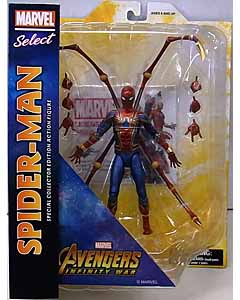DIAMOND SELECT MARVEL SELECT 映画版 AVENGERS: INFINITY WAR SPIDER-MAN パッケージ傷み特価