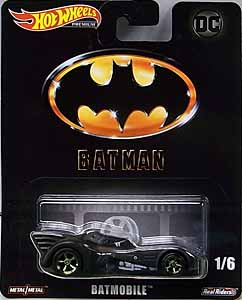 MATTEL HOT WHEELS 1/64スケール 2019 RETRO ENTERTAINMENT BATMAN 1989 BATMOBILE