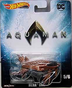 MATTEL HOT WHEELS 1/64スケール 2019 RETRO ENTERTAINMENT 映画版 AQUAMAN MERA SHIP