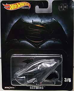MATTEL HOT WHEELS 1/64スケール 2019 RETRO ENTERTAINMENT BATMAN V SUPERMAN: DAWN OF JUSTICE BATWING