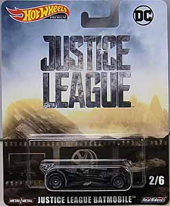 MATTEL HOT WHEELS 1/64スケール 2019 RETRO ENTERTAINMENT JUSTICE LEAGUE BATMOBILE