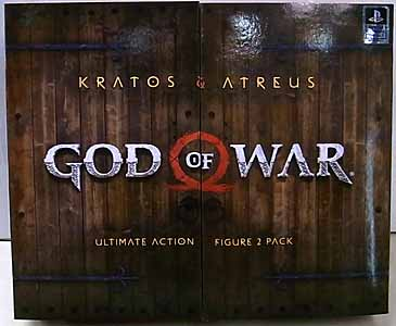 NECA GOD OF WAR 2018 7インチアクションフィギュア ULTIMATE KRATOS & ATREUS 2PACK