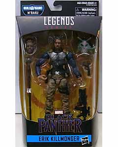 HASBRO MARVEL LEGENDS 2019 BLACK PANTHER SERIES 2.0 映画版 BLACK PANTHER ERIK KILLMONGER [M'BAKU SERIES]