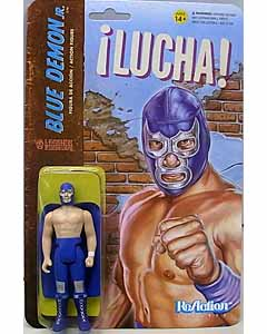 SUPER 7 REACTION FIGURES 3.75インチアクションフィギュア THE LEGENDS OF LUCHA LIBRE BLUE DEMON JR.